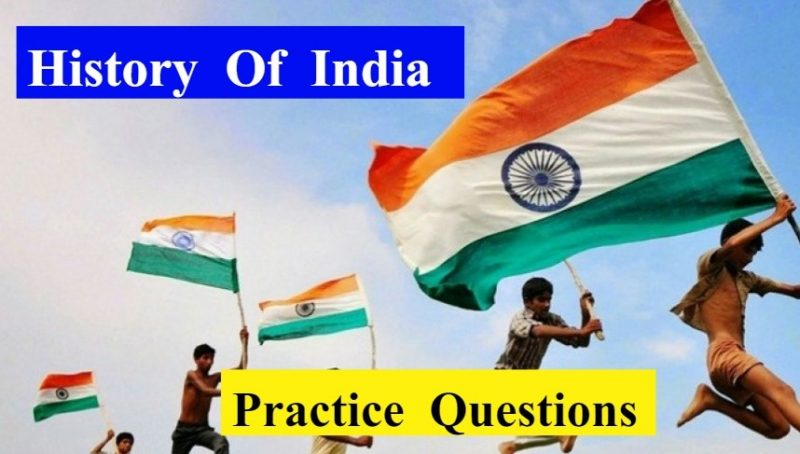 History-of-india-practice-solved-questions