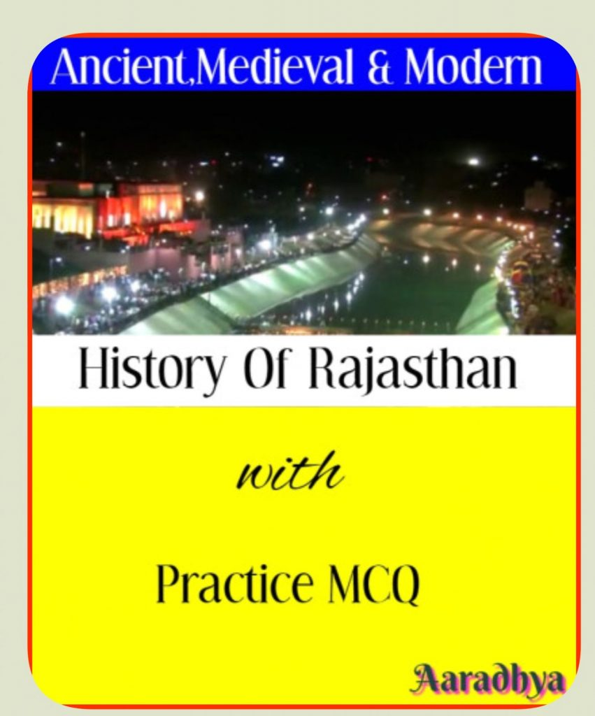 History-of-Rajasthan-Complete-study-notes