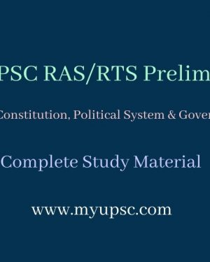 RAS Prelims Indian Polity and Constitution