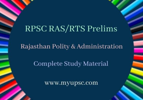 Political and Administrative System of Rajasthan