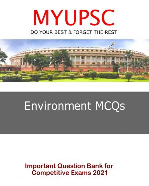 Current Affairs (Environment) MCQs in Hindi for Civil Services Examination 2021